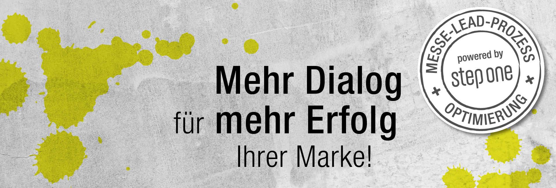 Mehr Dialog  für mehr Erfolg Ihrer Marke!